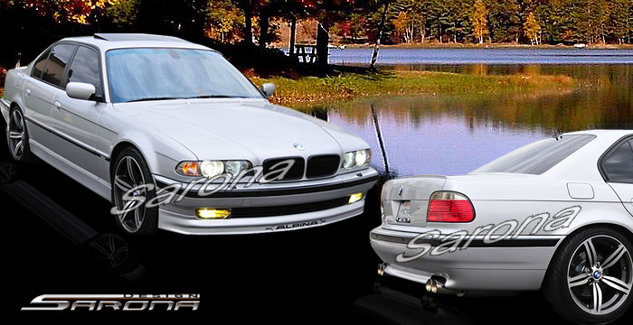 Custom BMW 7 Series Body Kit  Sedan (1995 - 2001) - $1290.00 (Manufacturer Sarona, Part #BM-055-KT)